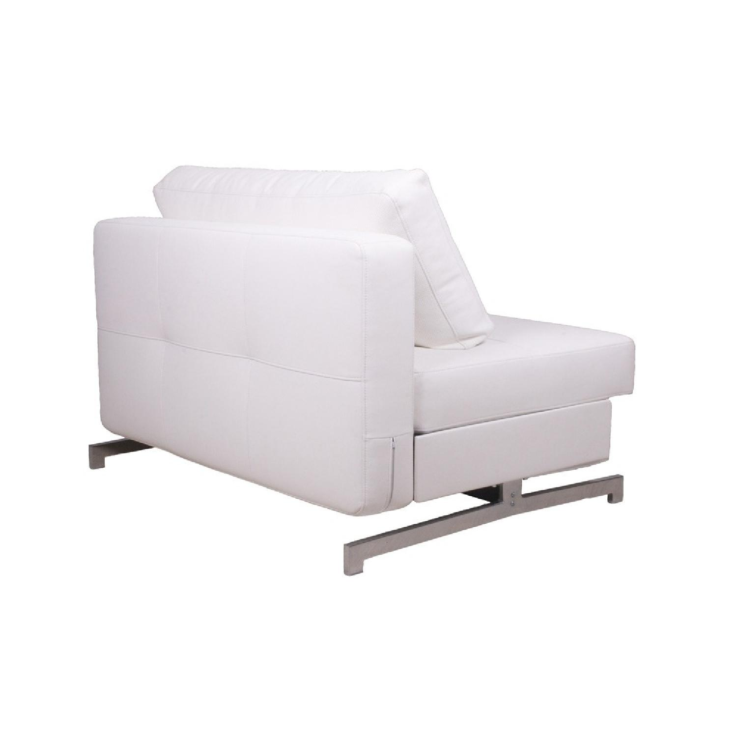 The Smart Sofa White JR Sofa Bed - image-3