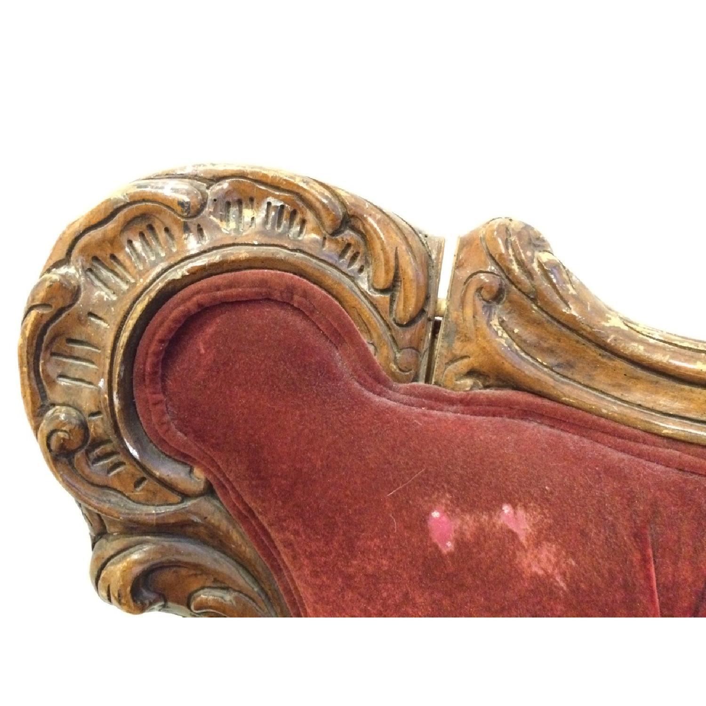 Vintage Rokoko Sofa - image-6