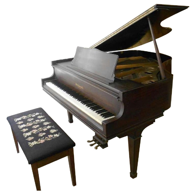 1938 Knabe Baby Grand Piano - image-0