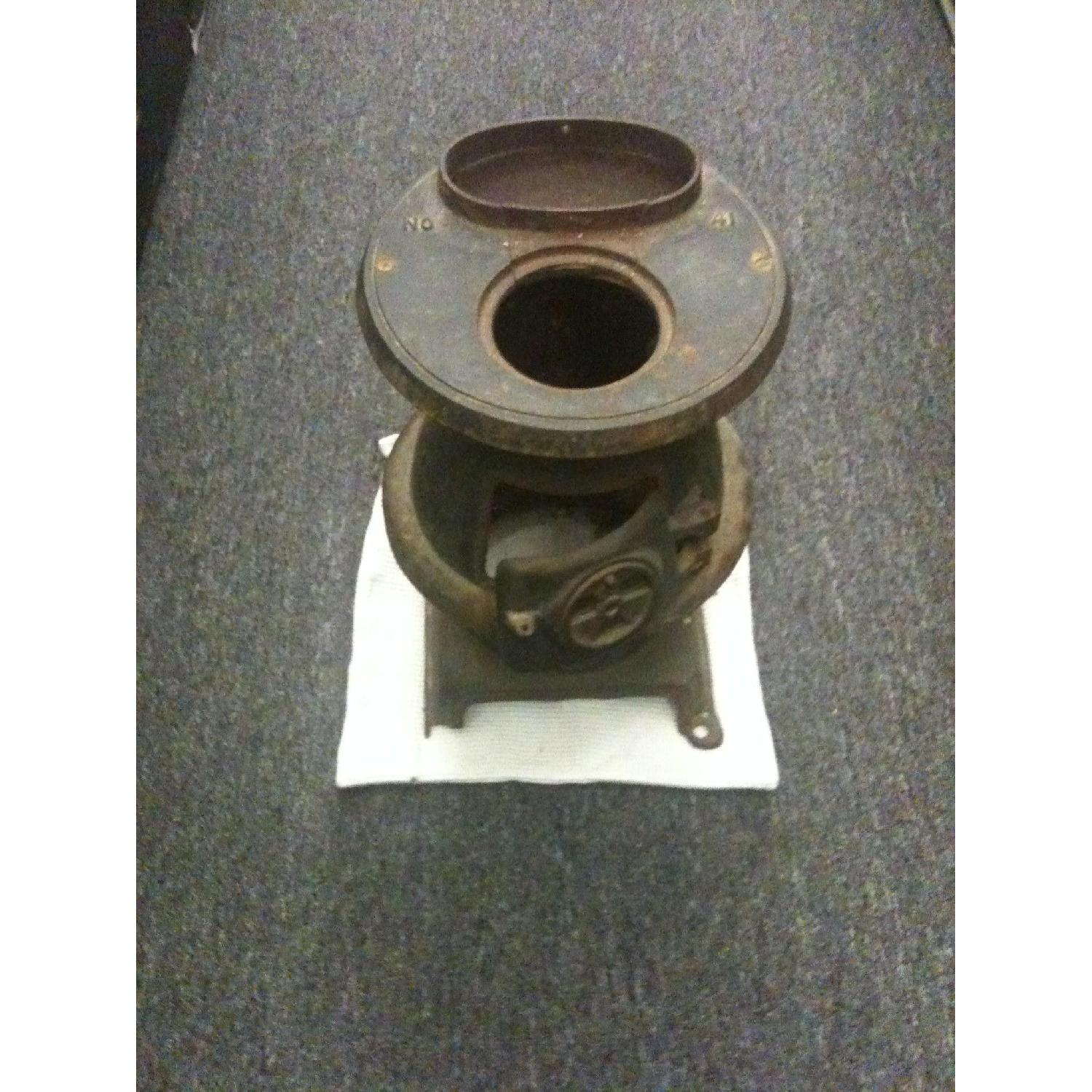 Rustic Vintage Potbelly Stove - image-4
