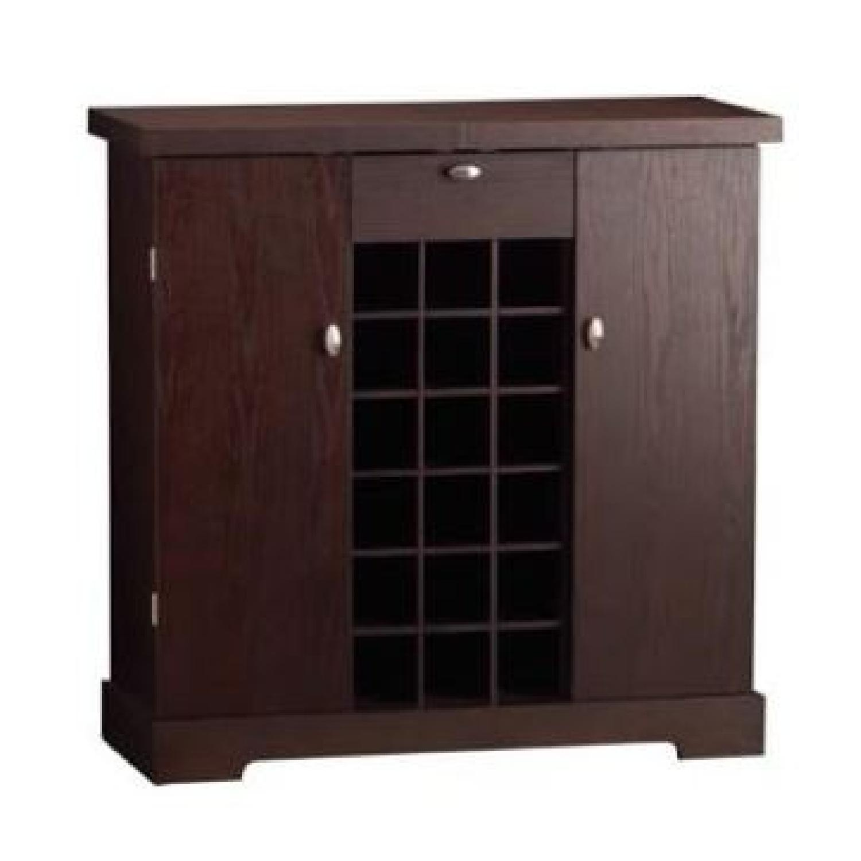 Crate & Barrel Credenza/Wine Bar - image-1