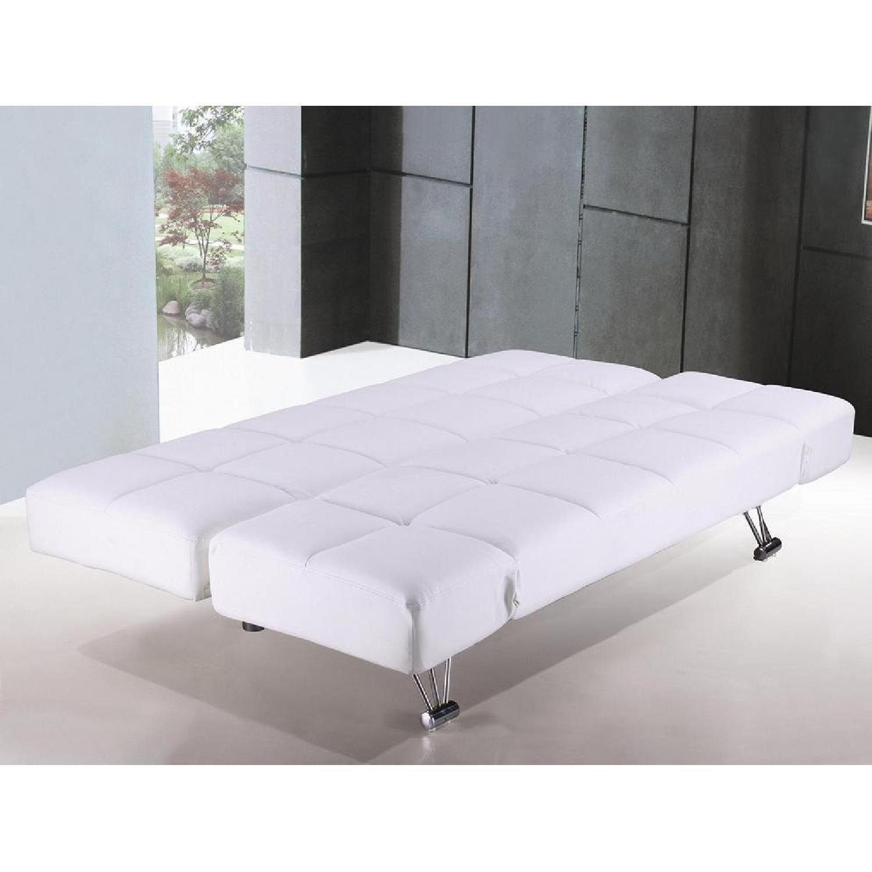 The Smart Sofa White Sleeper Sofa - image-2