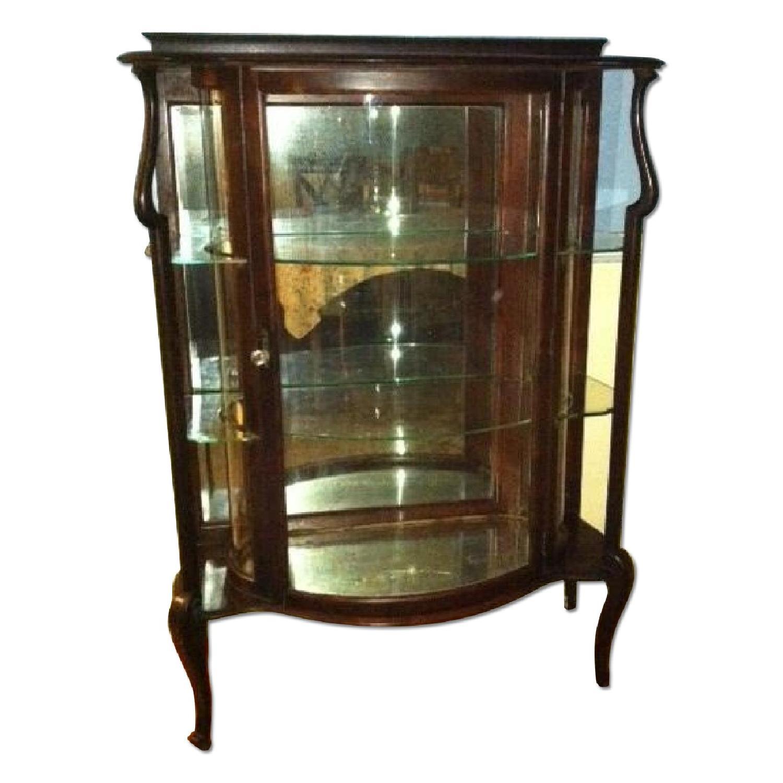 Antique China Cabinet - image-0