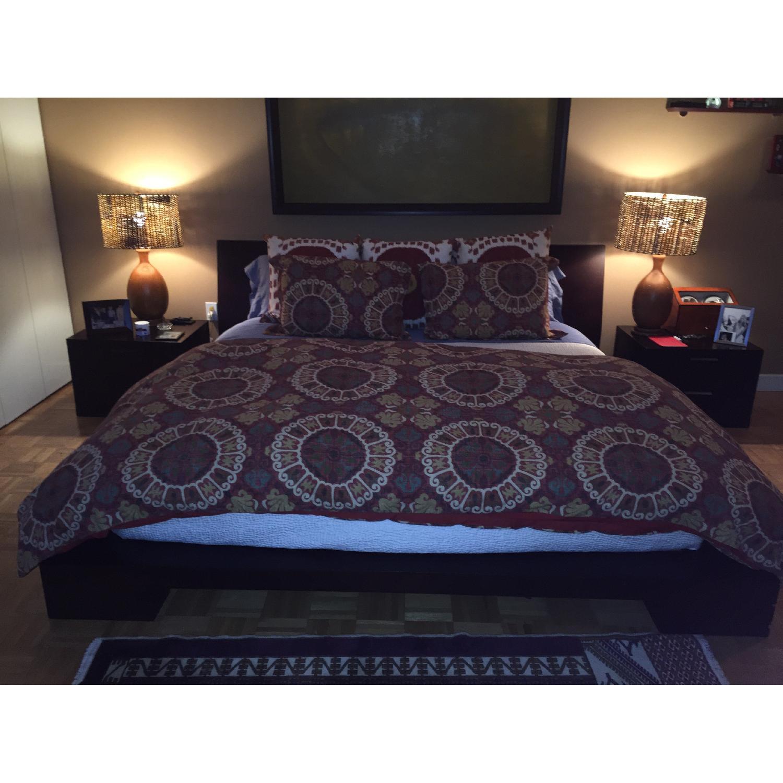 Jensen Lewis Wood Frame King Bed Frame - image-1