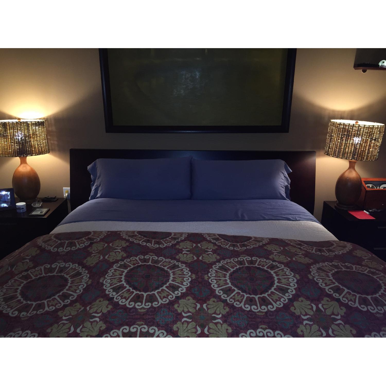 Jensen Lewis Wood Frame King Bed Frame - image-4