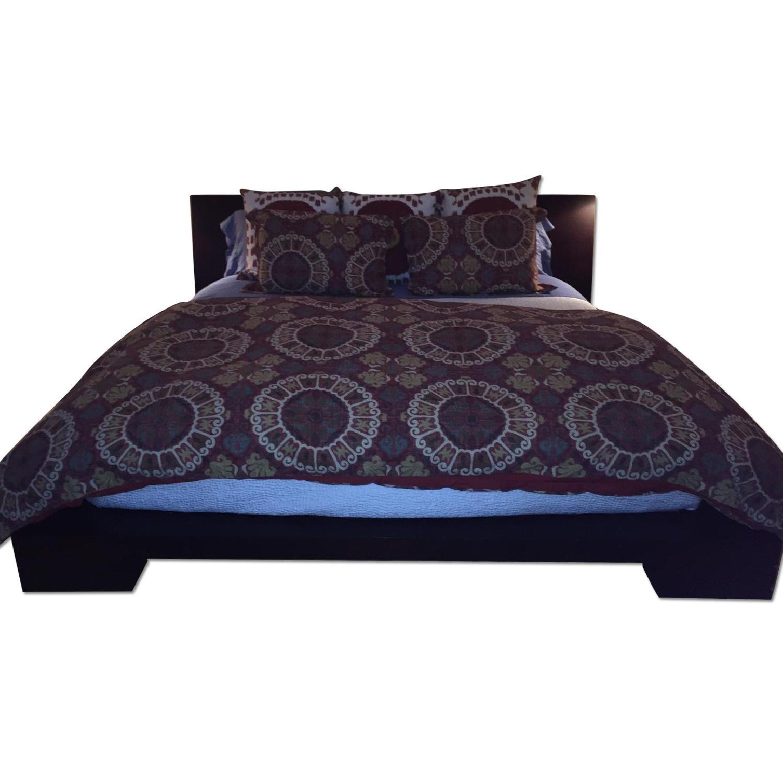 Jensen Lewis Wood Frame King Bed Frame - image-0
