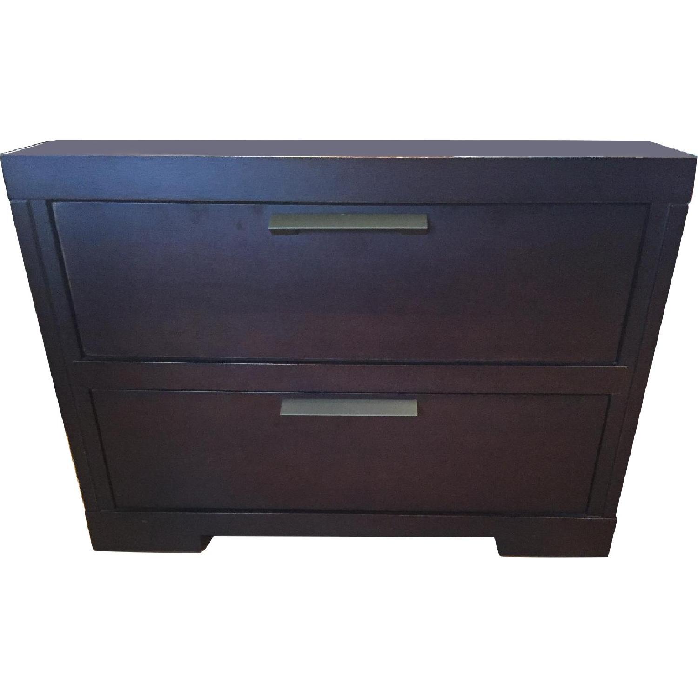 Jensen Lewis 2 Drawer Bedside Tables - Pair - image-0