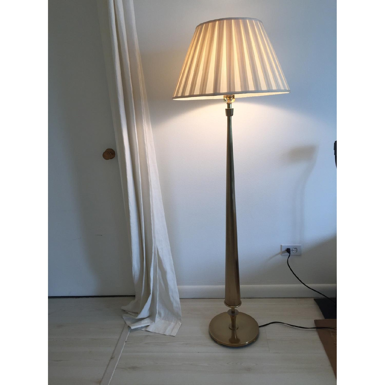 Gracious Home Brass Floor Lamp - image-3
