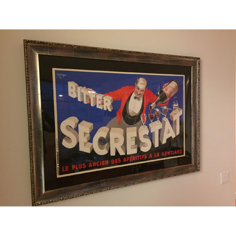 Art Deco Bitter Secrestat Framed Print - image-1