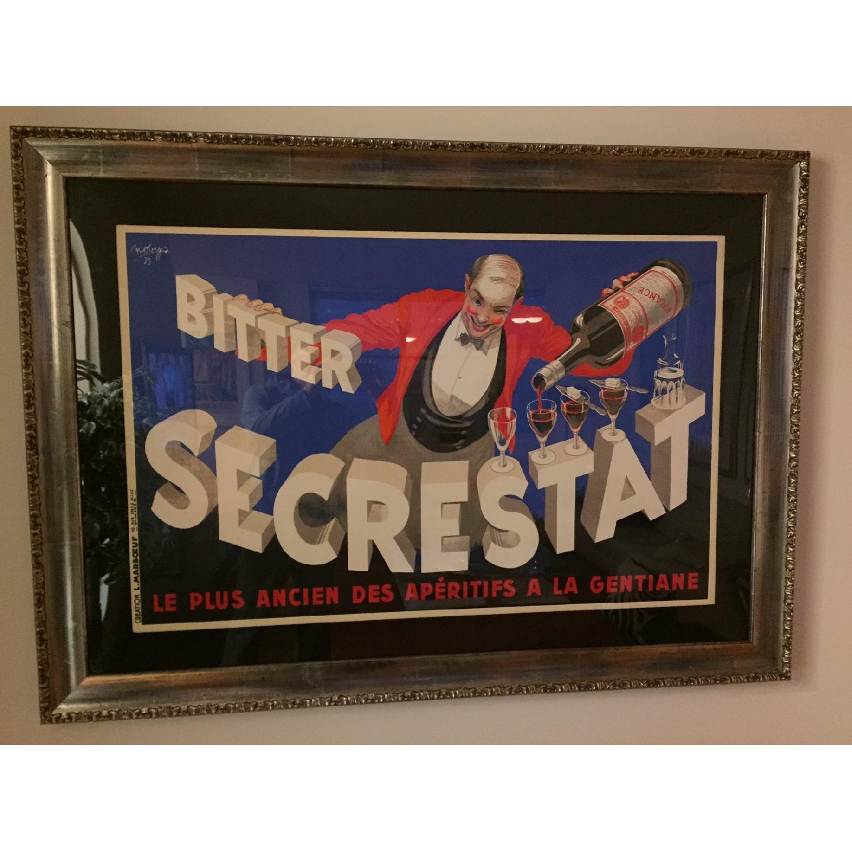 Art Deco Bitter Secrestat Framed Print - image-2