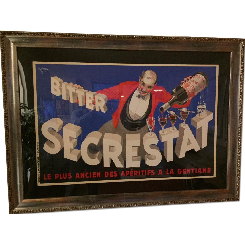 Art Deco Bitter Secrestat Framed Print - image-0