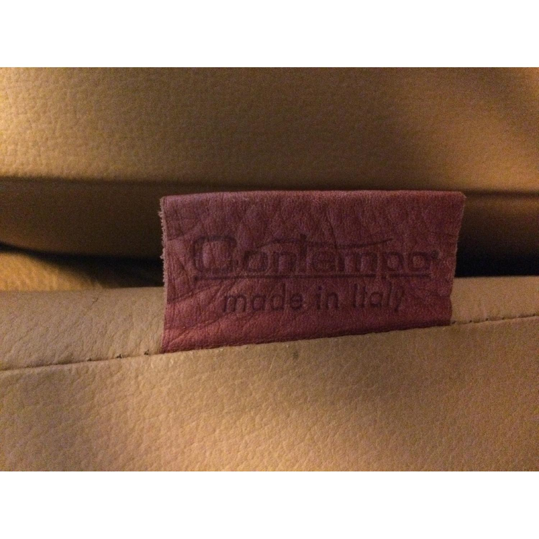 Contempo Dual-Recliner Leather Sofa - image-6