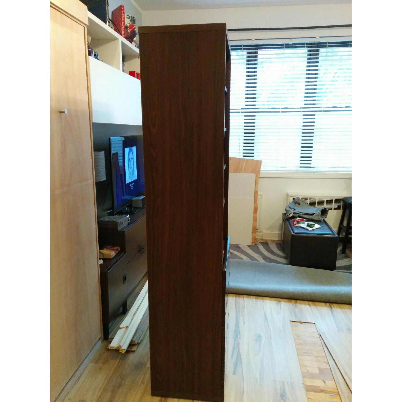 Ikea Besta Custom Bookshelf with Built-In Drawers - image-3
