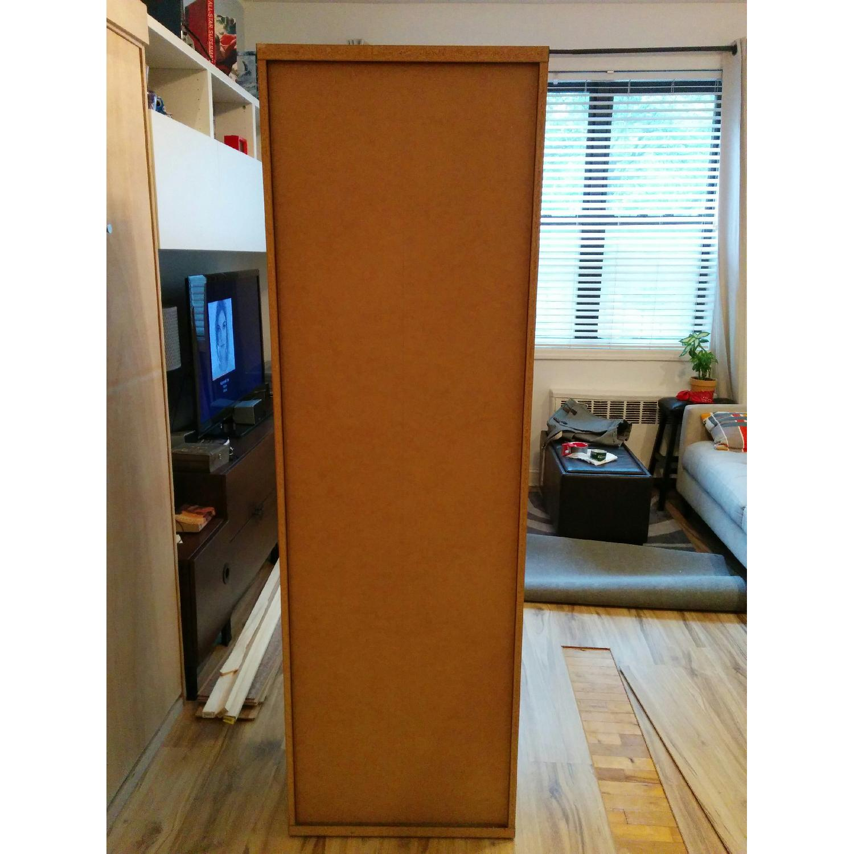Ikea Besta Custom Bookshelf with Built-In Drawers - image-4