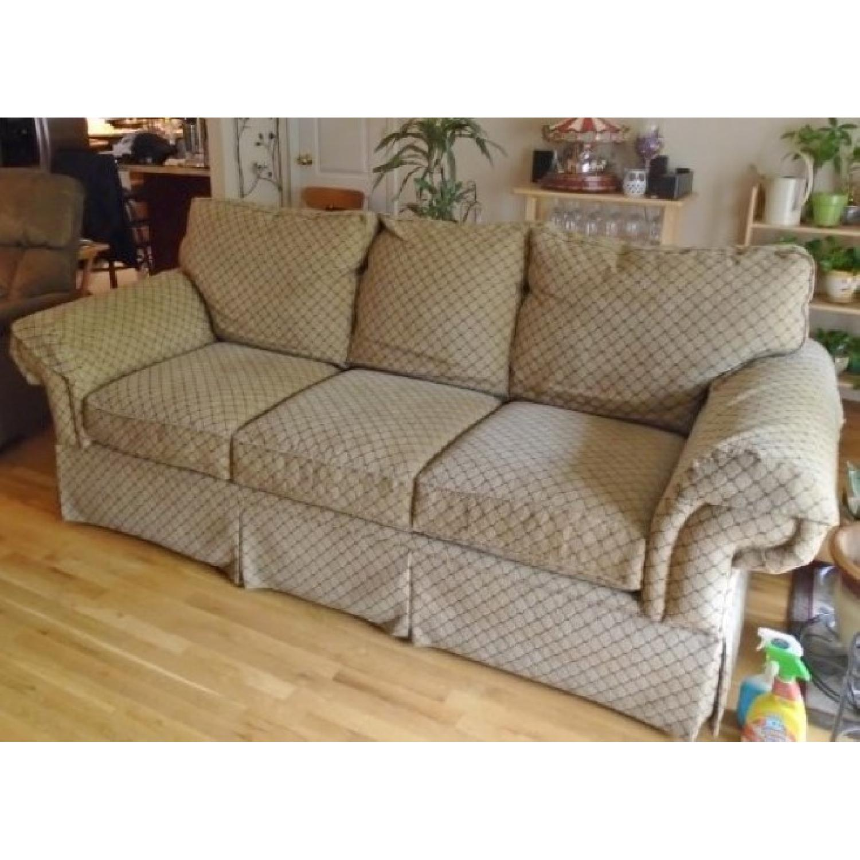Bassett Sofa + Matching Chair & Ottoman - image-1
