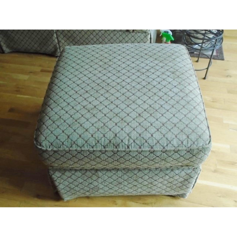 Bassett Sofa + Matching Chair & Ottoman - image-4