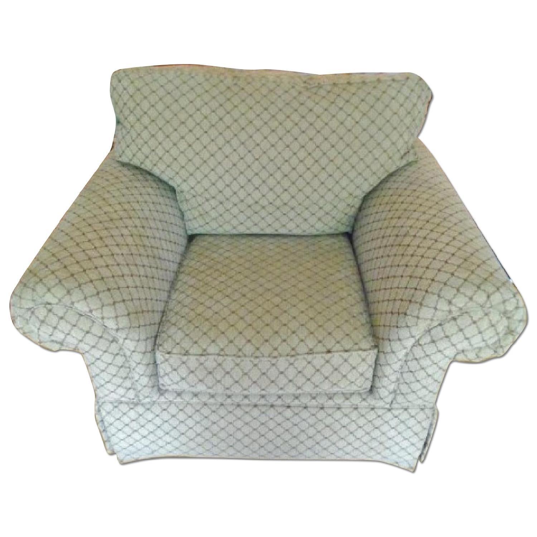 Bassett Sofa + Matching Chair & Ottoman - image-6
