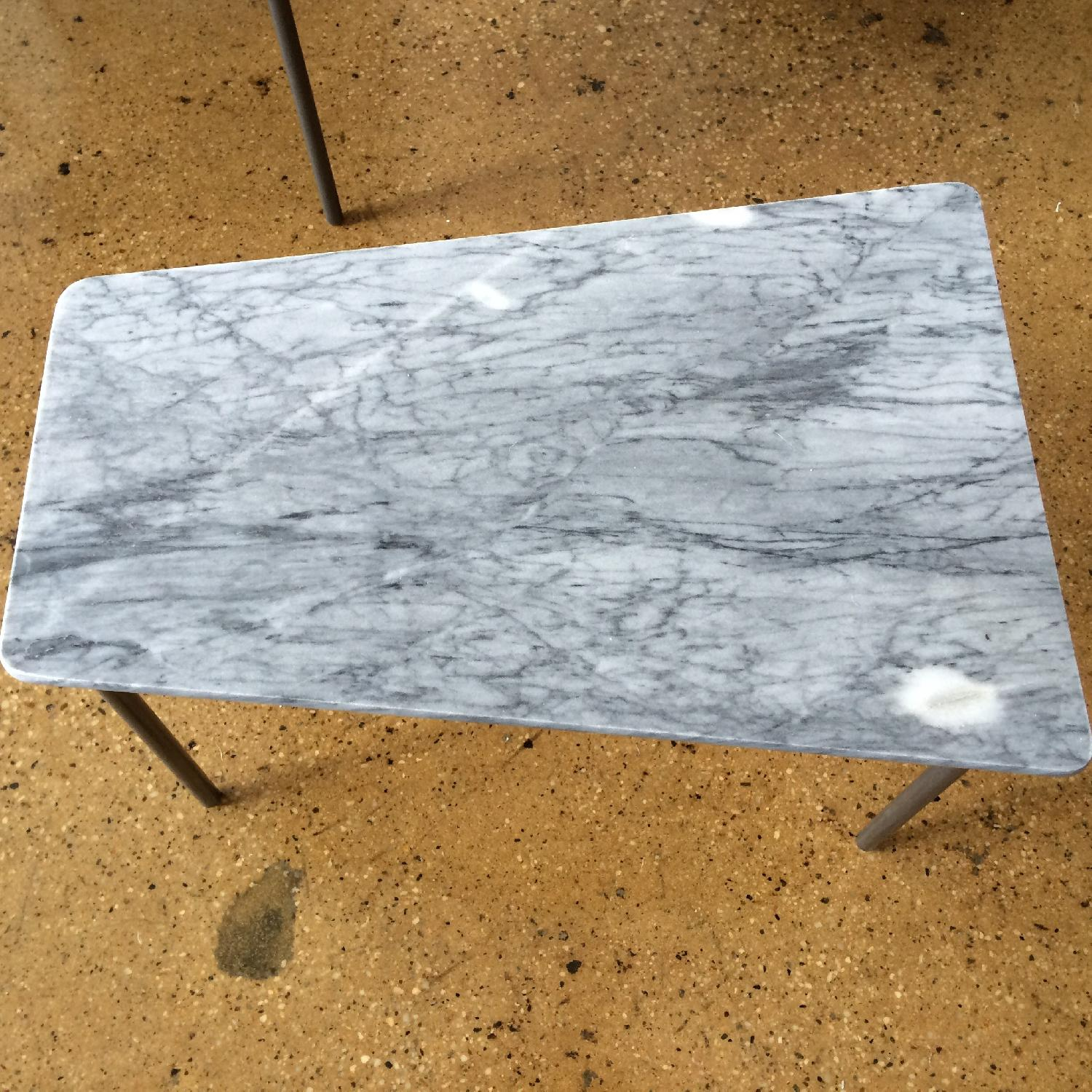 CB2 Marble Nesting Tables - Set of 3 - image-2