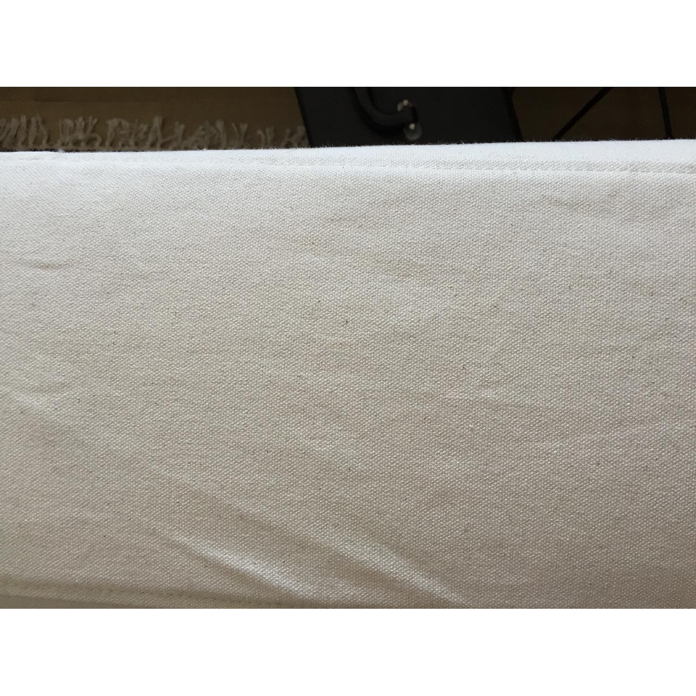 Ikea Klippan Loveseat w/ Natural Canvas Slipcover - image-4