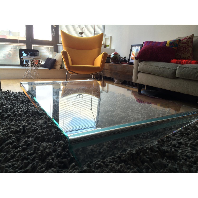 Conran Shop Italian Glass Coffee Table - image-1