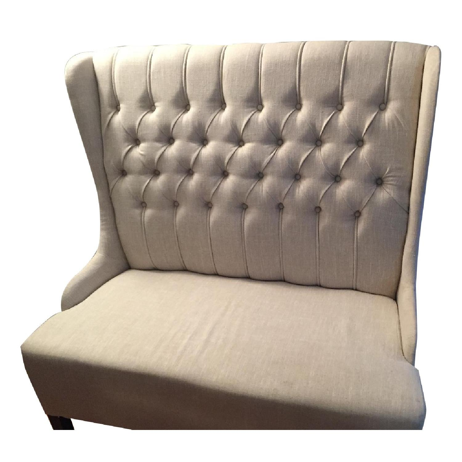Tufted Banquette - image-0