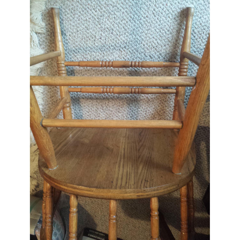 Blond Captain's Chair - image-3