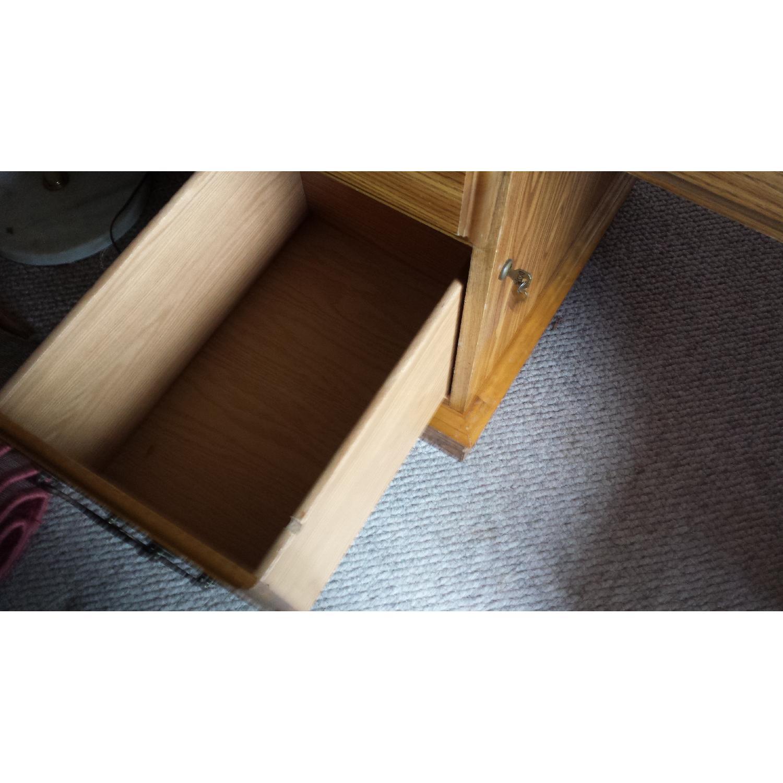 Scan Solid Oak Desk - image-4