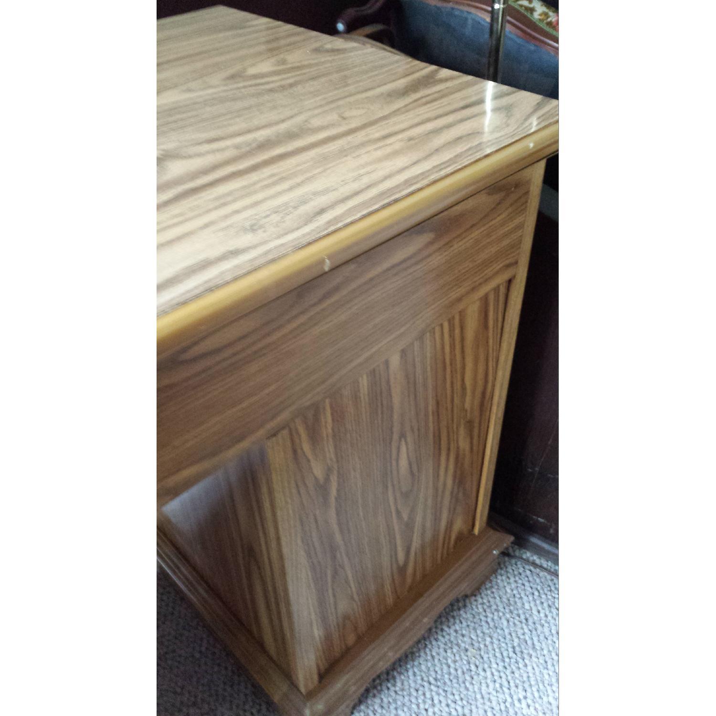 Scan Solid Oak Desk - image-7