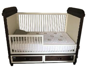 DucDuc Morgan Crib w/ 2 Built-in Drawers