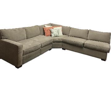 Macy's 3 Piece Sectional Sofa