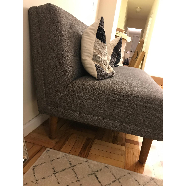 West Elm Armless Sofa AptDeco