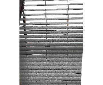 White Wood Window Blinds