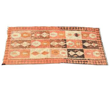 Old Turkish Kilim Rug