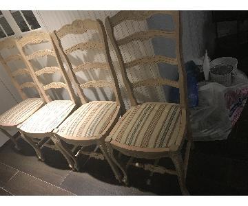 Shabby Chic Italian Country Chair