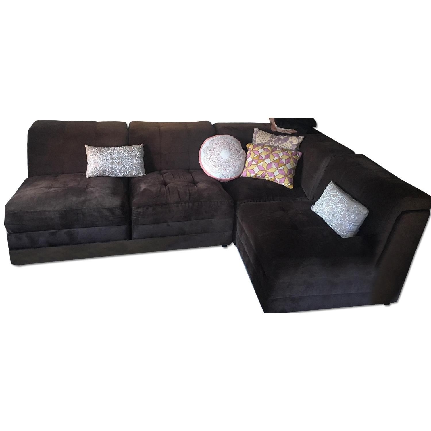 Bob s 4 Piece Sectional Couch AptDeco