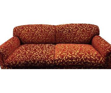 George Smith Plush Two Seat Sofa