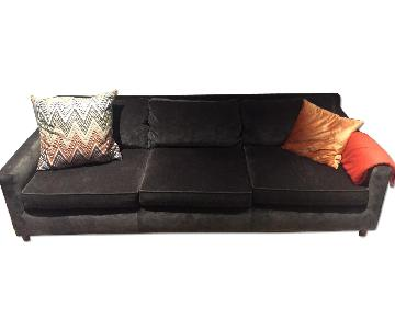 Mitchell Gold + Bob Williams Grey/Mink Sofa