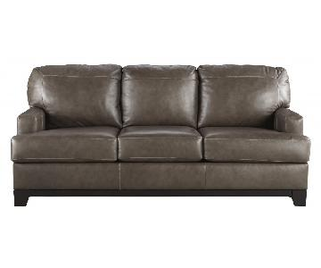 Ashley's Derwood Sofa in Pewter