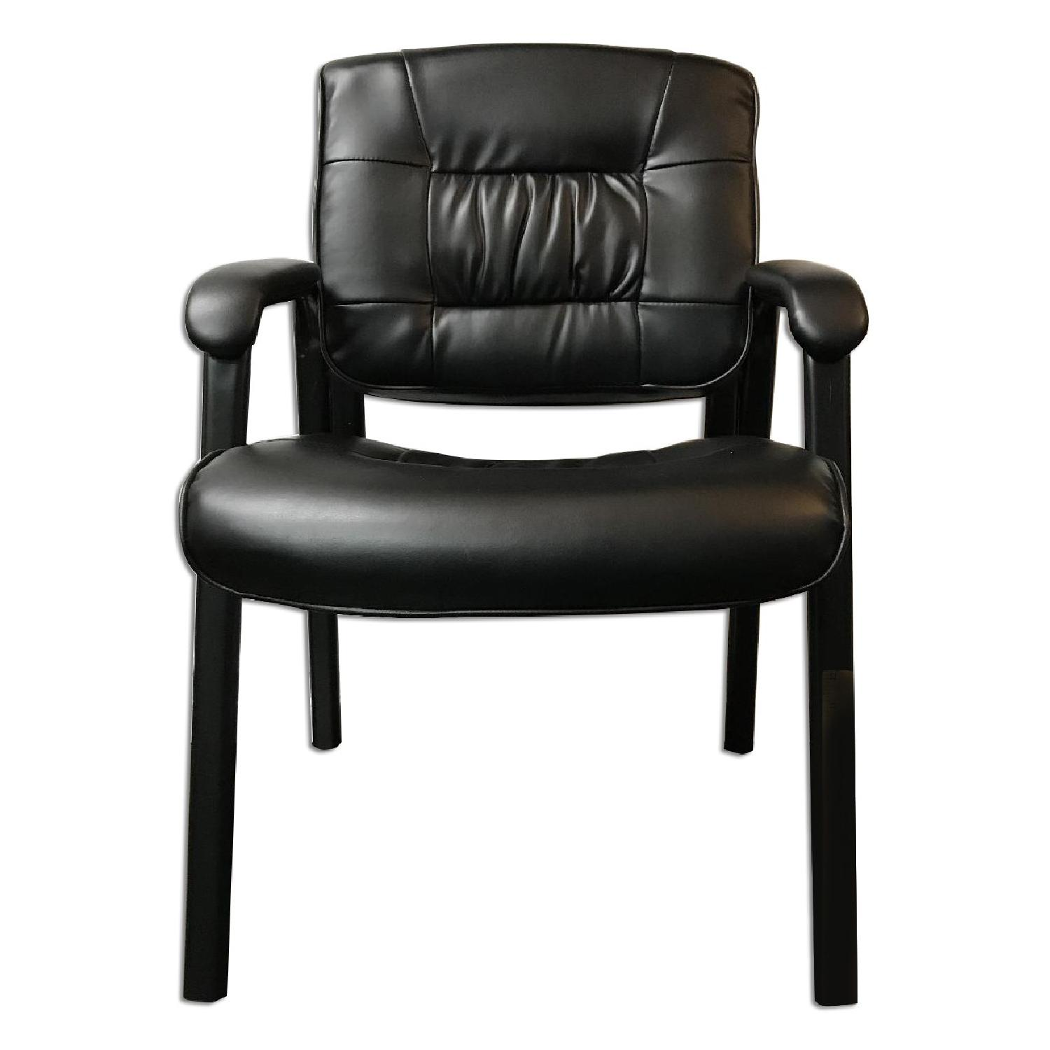 From the Source Leather Arm Chair AptDeco
