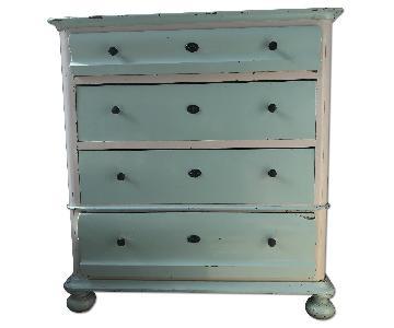 Antique Danish 4-Drawer Dresser