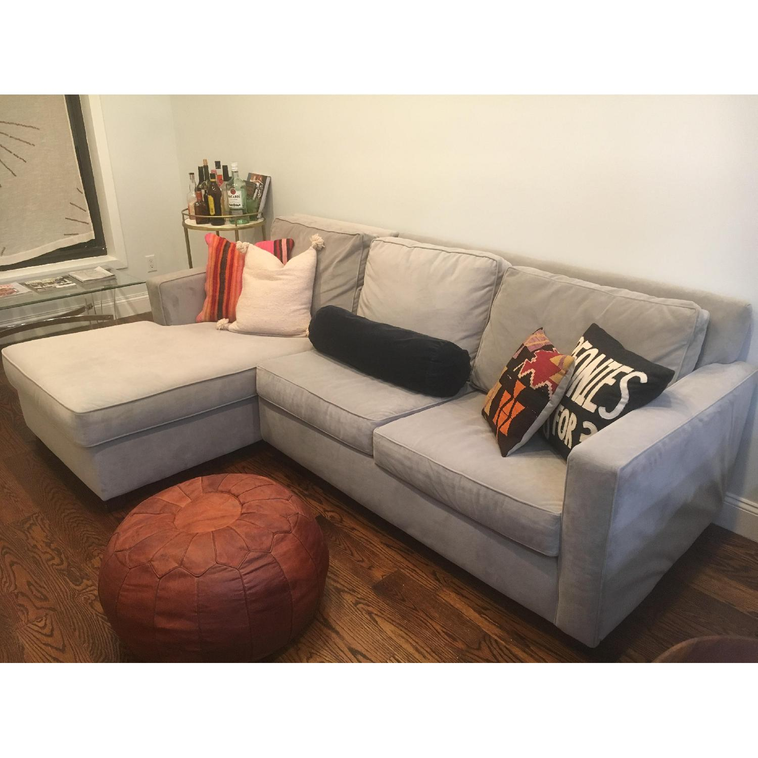 ... West Elm Henry 2 Piece Chaise Sectional Sofa-0 ...  sc 1 st  AptDeco : 2 piece chaise sectional - Sectionals, Sofas & Couches