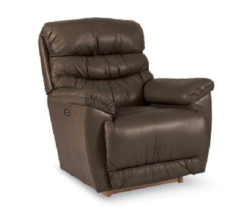 La-Z-Boy Joshua Leather Rocking Chair