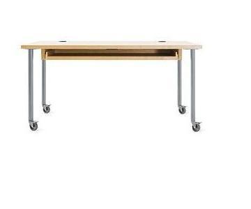 Design Within Reach Walnut Transporte Desk w/ Sliding Tray