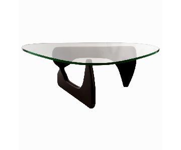 Noguchi Triangle Black Coffee Table Replica