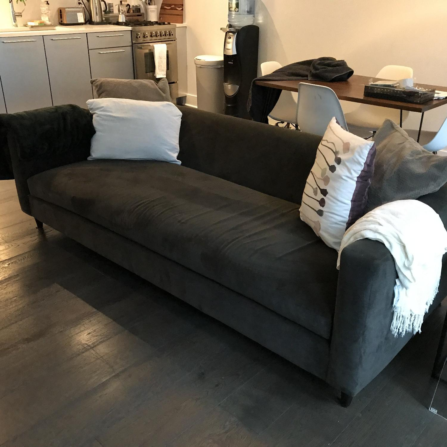 Cb2 Sofa Leather Couches Ikea Cb2 Couch Karlstad Sofa Review Has