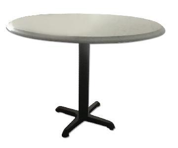 Marble Saarinen Top Style Dining Table