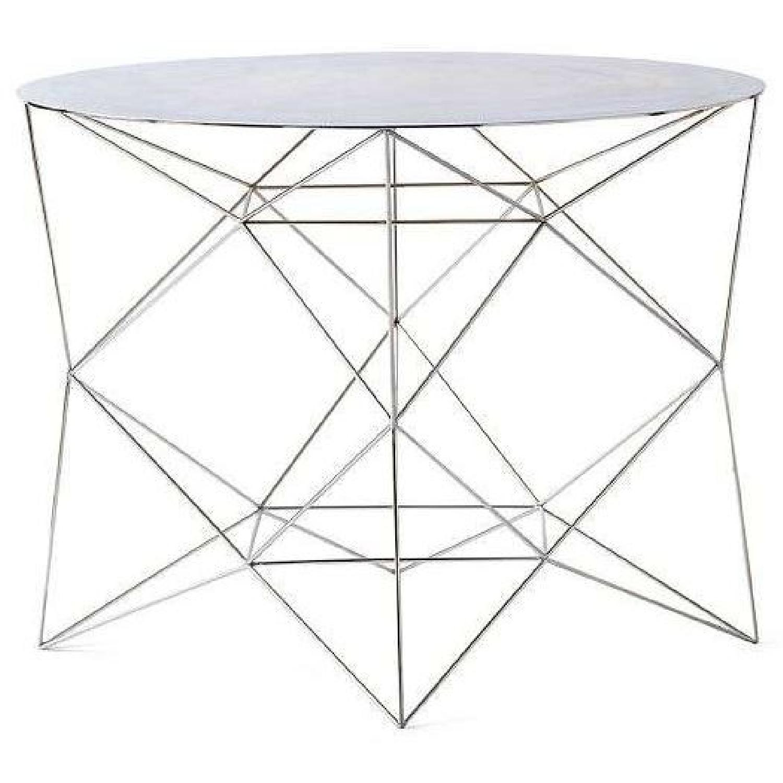 West Elm Geometric Coffee Table AptDeco