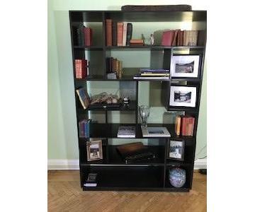 Espresso Open Bookshelf