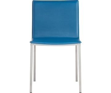 cb2 phoenix blue chair