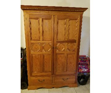Lexington Furniture Pine 6 Drawer Armoire